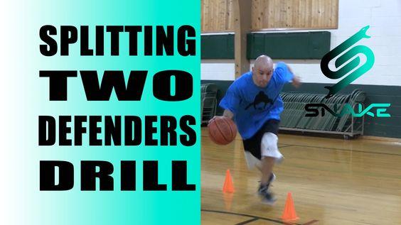 Basketball Dribbling Drills - Point Guard Pick Splitting