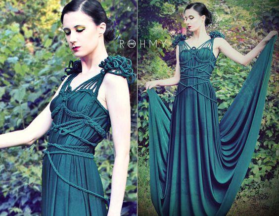 Drapiertes Hochzeits Kleid Libelle No. 2 ROHMY Gold Label von ROHMY