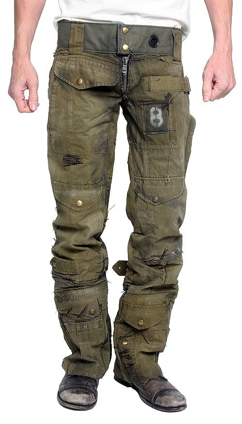 "JUNKER Diseños de Los Hombres - ""Call of Duty"" Pants Army Custom"