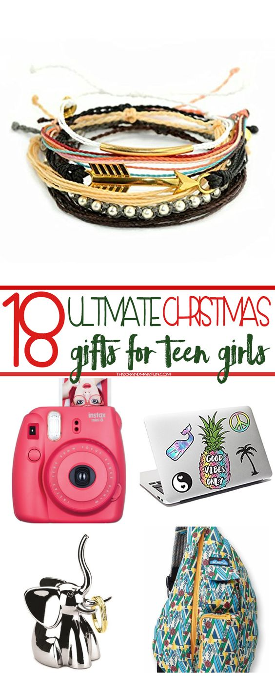 18 Ultimate Christmas Gifts for Teen Girls
