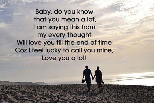 Pin By Cute Grl On Mary Travis Love Message For Boyfriend Love You Baby Quotes Love Messages