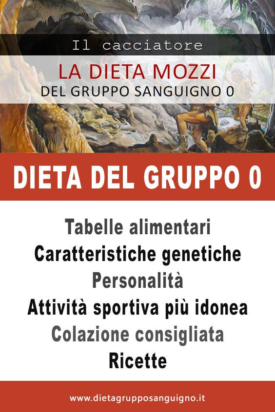 Dieta Del Gruppo Sanguigno 0 Del Dottor Mozzi Consigli Nutrizionali Dieta Gruppo Sanguigno