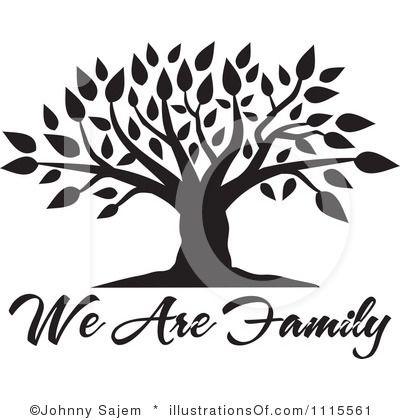 Clip Art Family Tree Clipart blank family tree clip art clipart 1115561 by johnny sajem royalty