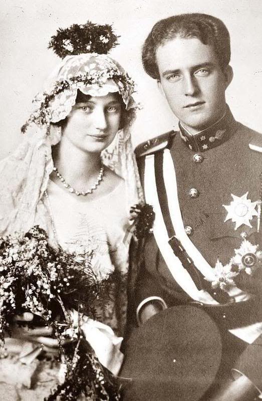 La boda en Suecia. De Astrid y Leopoldo.