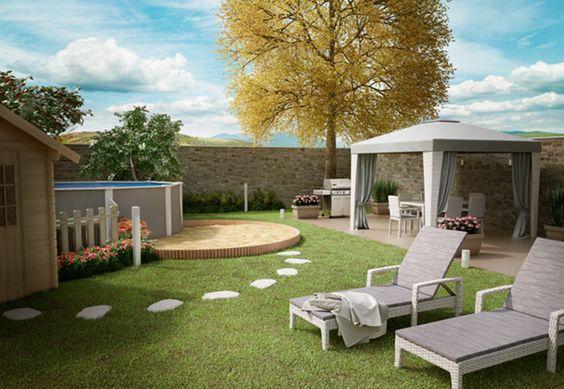 Un giardino da vivere con la famiglia scopri come trasformare il tuo giardino in un luogo da - Il giardino d estate ...