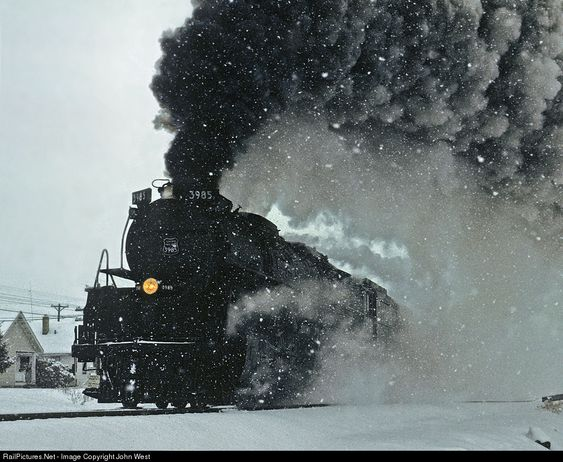 RailPictures.Net Photo: UP 3985 Union Pacific Steam 4-6-6-4 at Cheyenne, Wyoming by John West