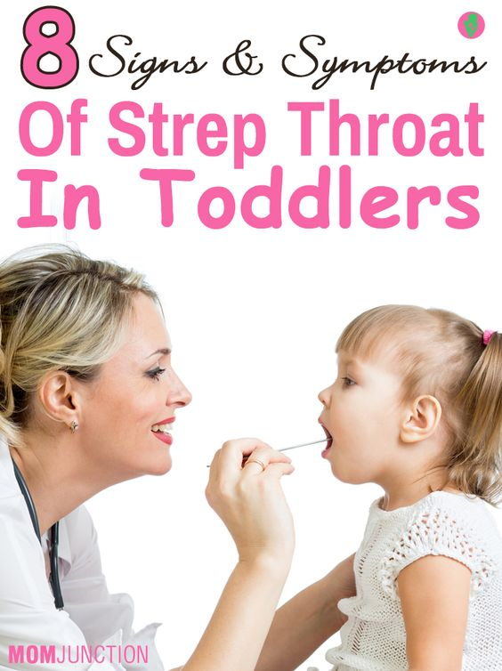 8 Signs And Symptoms Of Strep Throat In Toddlers