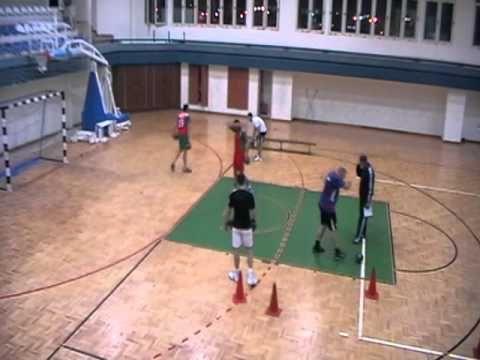 أكبر مجموعة فيديوات تمارين في كرة اليد على النات Youtube Handball Exercice Echauffement