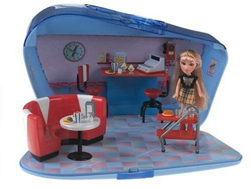 Amazon.com: Lil Bratz Lifestyle Diner with Nazalia Doll: Toys & Games