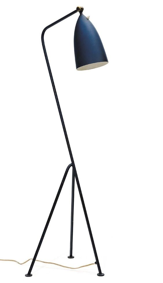 greta magnussen grossman grasshopper floor lamp 1949 for. Black Bedroom Furniture Sets. Home Design Ideas