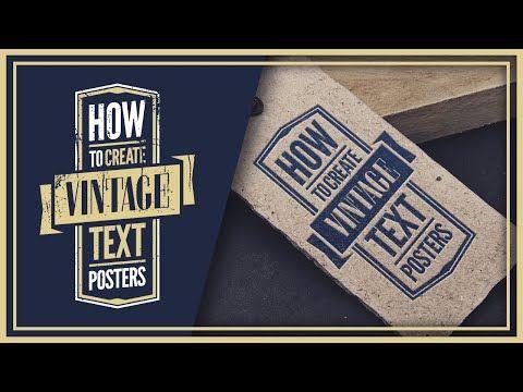 How To Design A Vintage Logo In Inkscape Vintage Logo Logo Design Book Design Layout