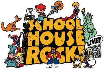 Everything I know, I learned from School House Rock...Got it for my kids too...on DVD however...hahahahaha