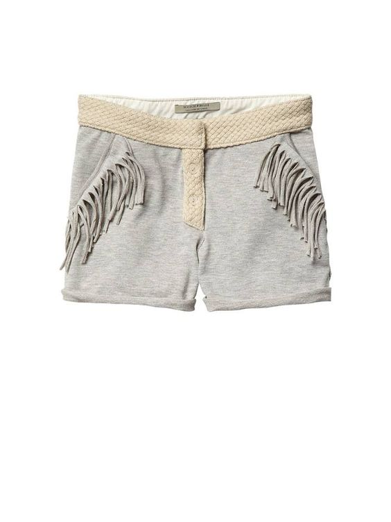 Scotch R´belle ss 2013. WORKED-OUT JERSEY SHORTS WITH WOVEN WAISTBAND  Article number: 13510183403