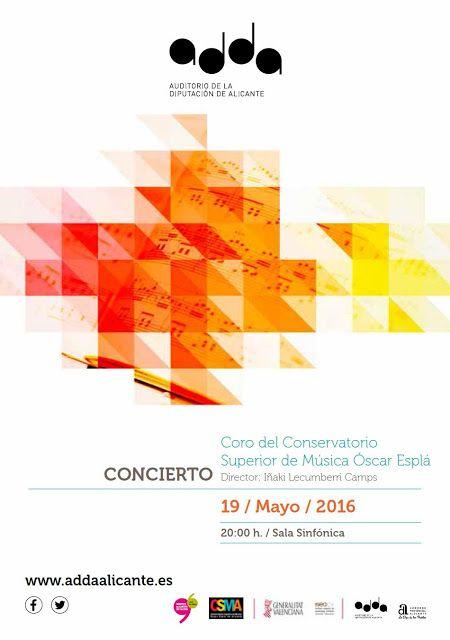 Vive, que no es poco.: Concierto Coro Conservatorio Superior Música Óscar...