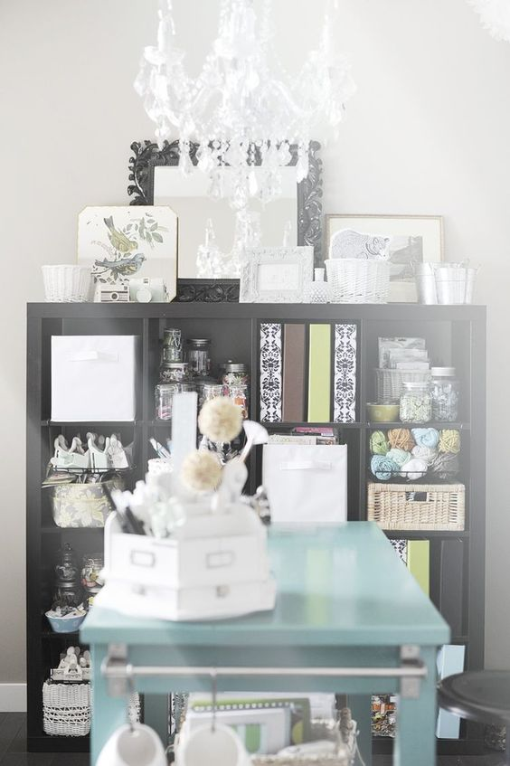 :: Jennifer Johner seems to have the most organized and pretty spaces. So, she sucks. ;)