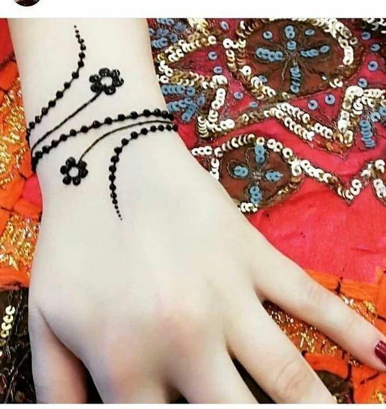 Awesome Mehandii Braclet Mehandi Fashion Style Stylish Love Tagsforlikes Me Cute Henna Tattoo Designs Hand Henna Designs Feet Latest Henna Designs