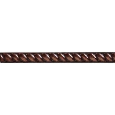 Shaw Floors Metal Half Round Rope Tile Accent in Copper~ $3.29