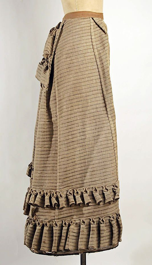 Bustle Made Of Horsehair - American c. Late 19th Century - The Metropolitan Museum Of Art