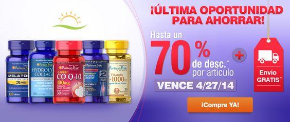 Una oportunidad para AHORRAR desde hoy y durante ¡¡TODO EL FIN DE SEMANA!!  es.puritan.com/?scid=29138