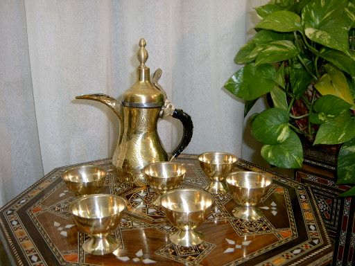 Foto: طقم شاي نحاسي جزائري | ARTISANAT-ALGERIEN-Kunsthandwerk الحرف ...