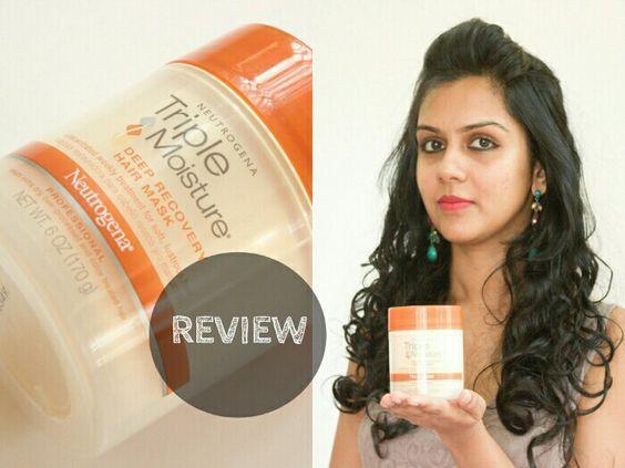 Neutrogena Triple Moisture Deep Recovery Hair Mask Review Curl