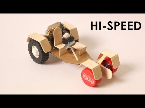 How To Make A Super Car At Home Make A Toy Car Diy Projects Fikirler Kendin Yap Teknik