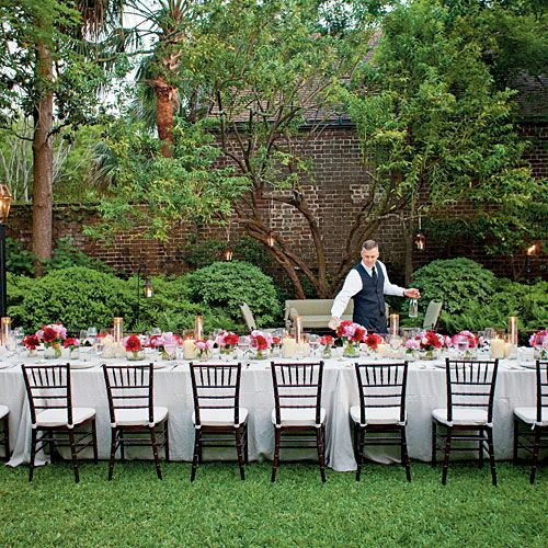 An Elegant Garden Party Set The Scene For A Really