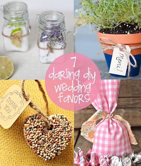 Diy Wedding Favors Creative Gifts And Diy Wedding On Pinterest