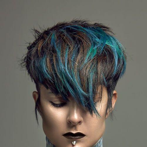 45 Jazzy Short Hair With Highlights Ideas My New