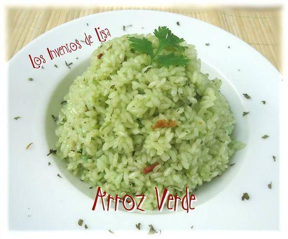 Arroz Verde Peruvian Recipes Cooking Recipes Mexican Food Recipes