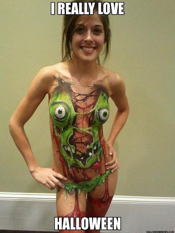 I really love halloween -