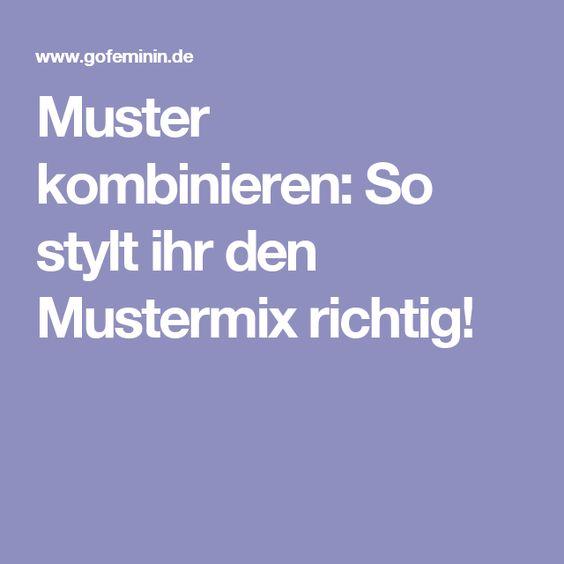 Muster kombinieren: So stylt ihr den Mustermix richtig!
