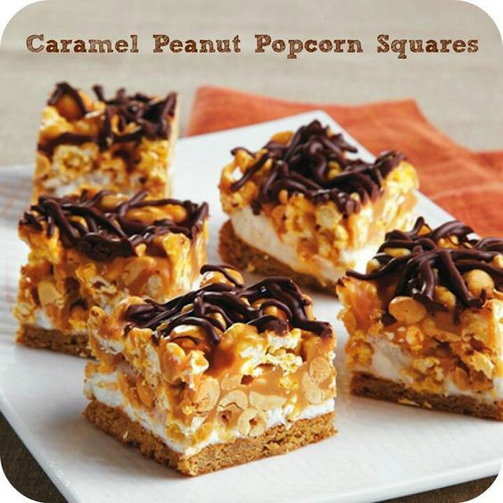 butter banana cake peanut butter crunch cake squared recipes dishmaps ...