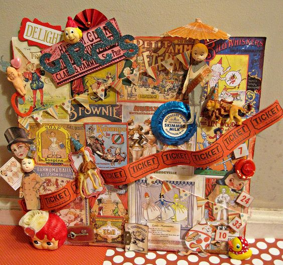 Circus Board! 3 by Lisa Kettell, Clearsnaps Design Team