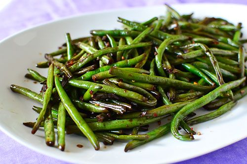 Asian-Style Stir Fried Green Beans | Just Putzing Around the Kitchen