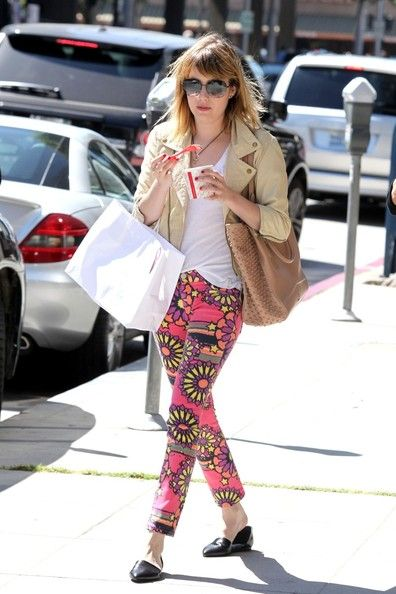 emma roberts - these pants!