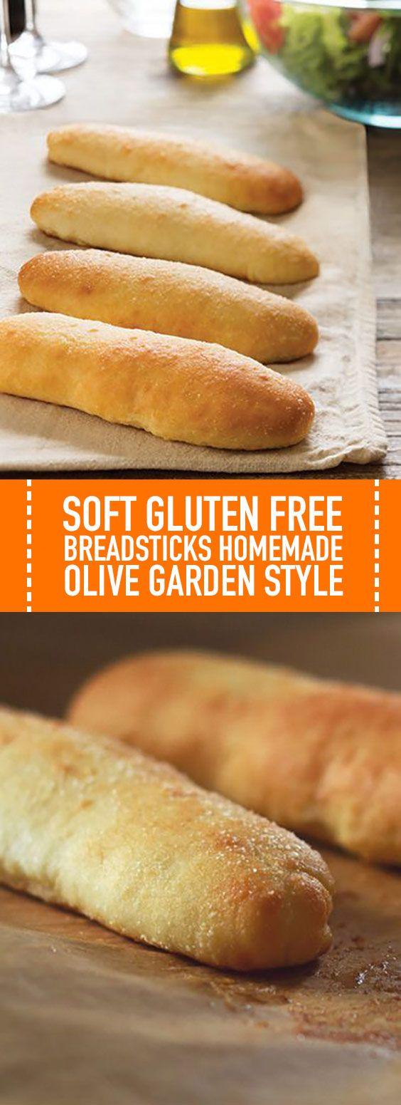 Soft Gluten Free Breadsticks Homemade Olive Garden Style These Soft Gluten Free Breadst Gluten Free Breadsticks Homemade Breadsticks Olive Garden Gluten Free