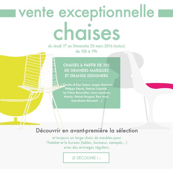 destockage meuble - vente chaises design | design - Destockage Meuble Design