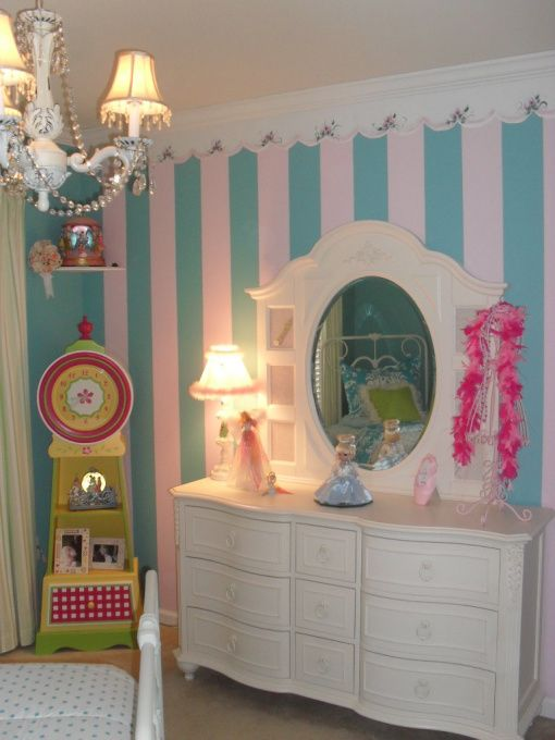 Whimsical girls room i updated my 5 years old rm by for Bedroom ideas 18 year old