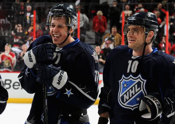 """""""Oh, yeah, it feels awesome,"""" Malkin said about the 2012 NHL All-Star game win for team Chara."""