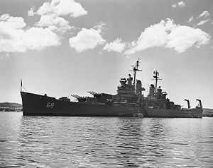 Ship- USS Baltimore (CA-68), Heavy Cruiser