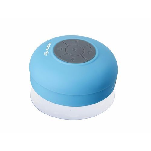 Steren Bluetooth Shower Speaker with Integrated Microphone Phone Tablet Laptop