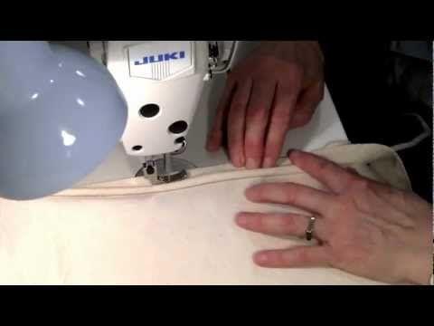 Video Tutorial Sulaman: How to sew piping in one step! - % - http://maribelajarsulamankerawang.com/video-tutorial-sulaman-how-to-sew-piping-in-one-step/