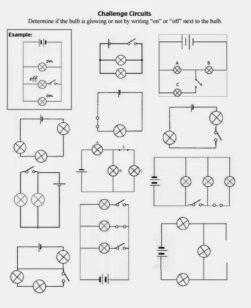 Series And Parallel Circuits Worksheet Elegant Teaching The Kid Series Or Parallel Circuits Series And Parallel Circuits Science Electricity Circuits Science