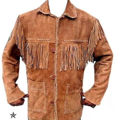 SleekHides Mens Fashion DP Leather Jacket
