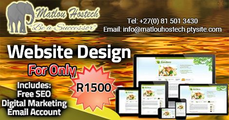 Affordable 3-in-1 responsive Website: Free SEO, Free Digital Marketing and Email accounts.