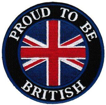 union jack clothes and shoes for babies   ... Patch English Union Jack Flag Iron-On UK Biker Emblem: Clothing