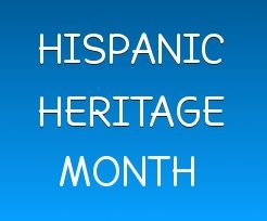 Hispanic Heritage Month is Sept 15 - Oct 15. If you are looking for material, here are some resources to get you started.