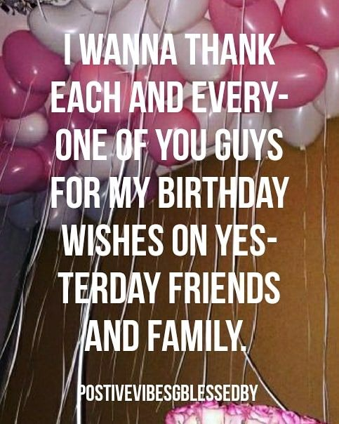 Watch The Best Youtube Videos Online I Wanna Thank Everyone For My Birthday Wishes On Birthday Wishes For Myself Birthday Wishes Birthday Surprises For Her