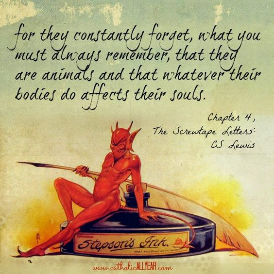 screwtape letters quotes stand in always remember and letters on 12032